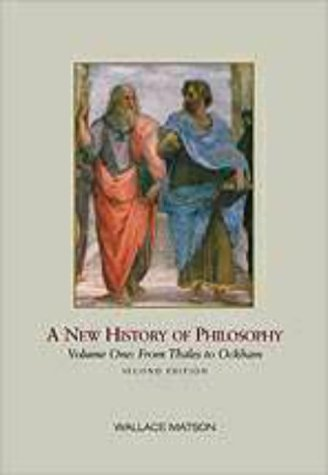 A New History of Philosophy...