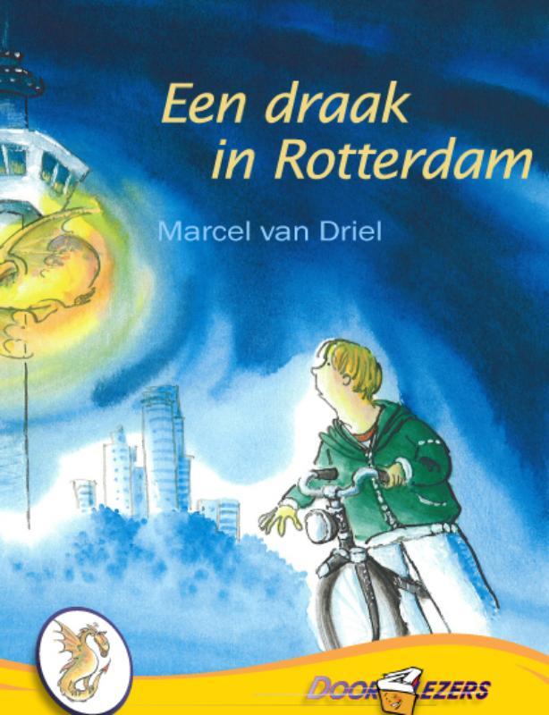 Een draak In Rotterdam