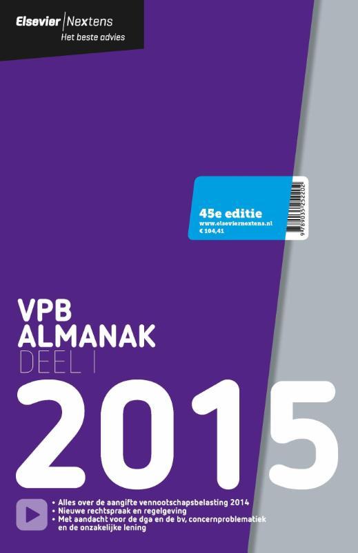 - Elsevier VPB almanak 2015